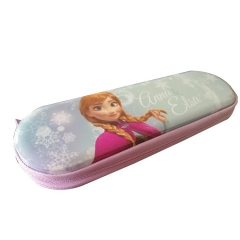 Metal Cartoon Pencil Cases with Zipper High Quality School Student Pencil Box Beautiful Girls Pencil Holder Gift
